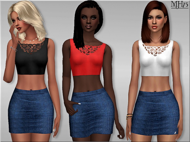 Sims 4 Sweet Summer Outfit by Margeh75 at Sims Addictions