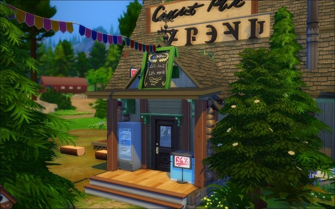 Sims 4 Mystery Shack by Zagy at Mod The Sims