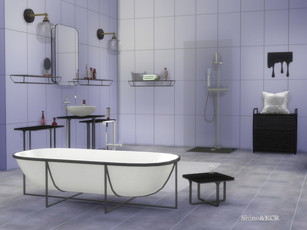 Cologne Bathroom by ShinoKCR at TSR image 610 Sims 4 Updates