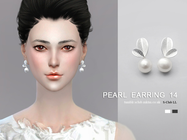 Sims 4 Earrings 14(f) by S Club LL at TSR