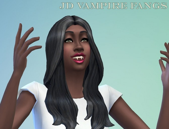 Vampire Fangs JD by JosephTheSim2k5 at Mod The Sims image 641 670x511 Sims 4 Updates
