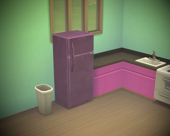 Sims 4 Fridges in 16 new colours by Chiosser at Mod The Sims