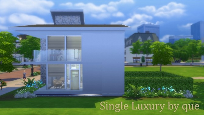 Single Luxury house by quiescence90 at Mod The Sims image 658 670x377 Sims 4 Updates