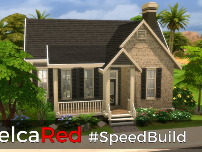 Traditional Basegame House By Nelcared At Mod The Sims