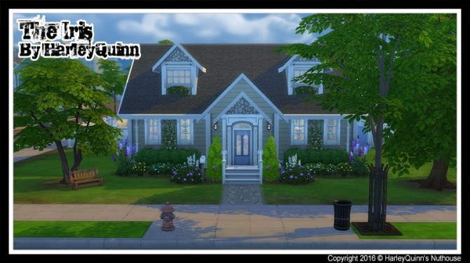 The Iris house at Harley Quinn's Nuthouse image 6611 670x375 Sims 4 Updates