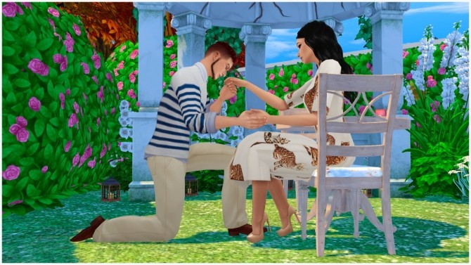 Will You Marry Me Poses At Rethdis Love 187 Sims 4 Updates