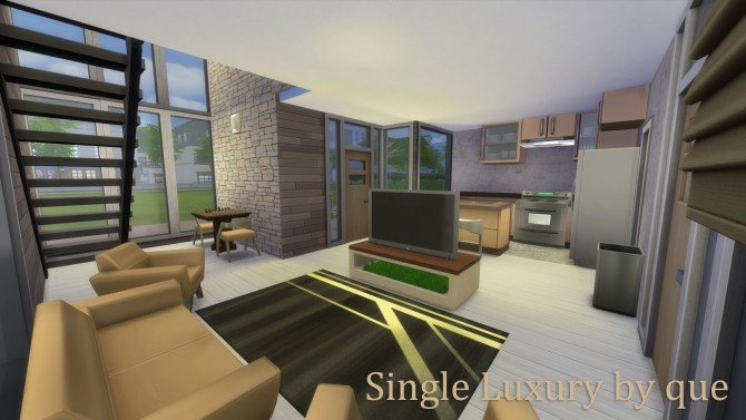 Single Luxury house by quiescence90 at Mod The Sims image 668 670x377 Sims 4 Updates