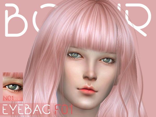 Eyebag F01 by Bobur3 at TSR image 674 Sims 4 Updates