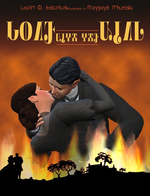 SCARLET & RHETT from GONE WITH THE WIND by Anni K at Historical Sims Life image 689 Sims 4 Updates