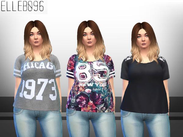 My Wardrobe Collection t shirts by Elleb096 at TSR image 704 Sims 4 Updates