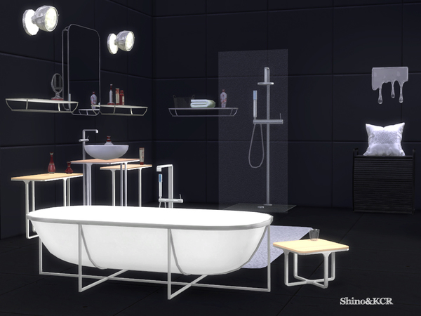 Cologne Bathroom by ShinoKCR at TSR image 710 Sims 4 Updates