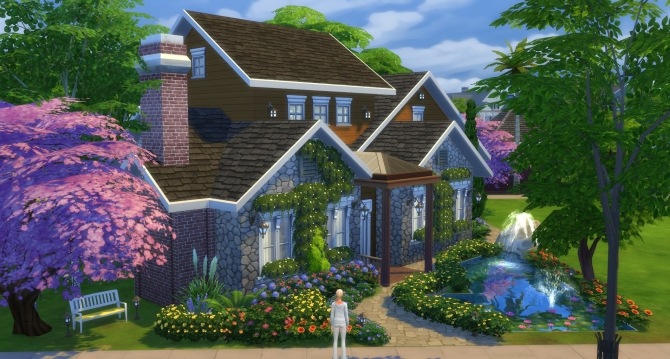 Summer Country House By Marjia At Mod The Sims 187 Sims 4