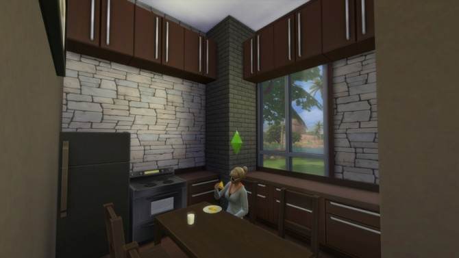 Sims 4 Modern Forrest BaseGame Starter by NelcaRed at Mod The Sims