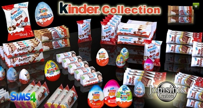 Kinder Collection at Jomsims Creations image 7310 670x355 Sims 4 Updates