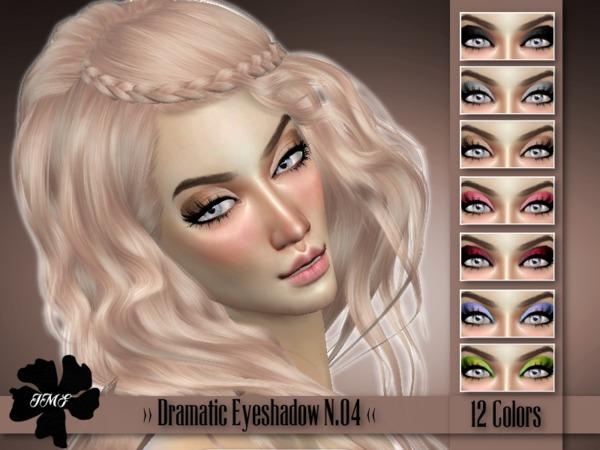 Sims 4 IMF Dramatic Eyeshadow N.04 by IzzieMcFire at TSR