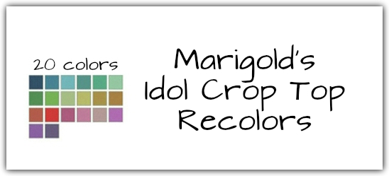 Idol Crop Top Recolors at Maimouth Sims4 image 733 Sims 4 Updates