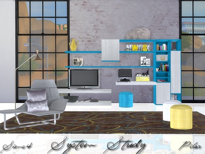 System Study by Pilar at SimControl image 738 670x503 Sims 4 Updates