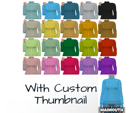 Sims 4 My Cozy Sweater at Maimouth Sims4