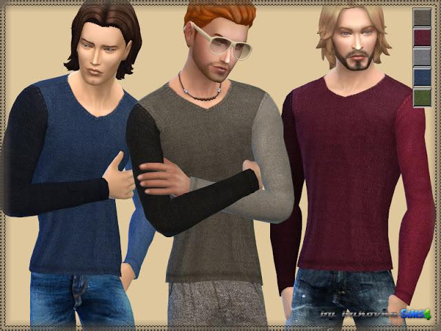 Sweater Various Sleeve at Bukovka image 768 Sims 4 Updates