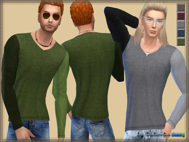 Sweater Various Sleeve at Bukovka image 778 Sims 4 Updates
