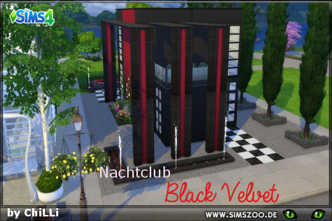 Black Velvet club by ChiLLi at Blacky's Sims Zoo image 808 Sims 4 Updates