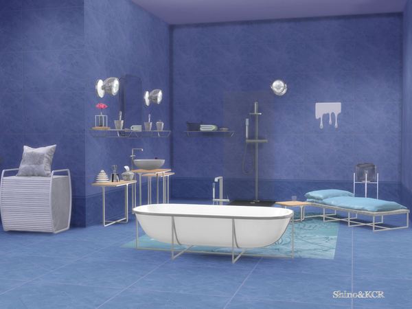 Cologne Bathroom by ShinoKCR at TSR image 810 Sims 4 Updates