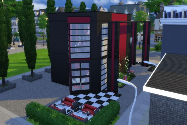 Sims 4 Black Velvet club by ChiLLi at Blacky's Sims Zoo