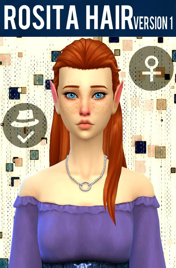 Rosita Hair V1 at Simduction image 82 Sims 4 Updates