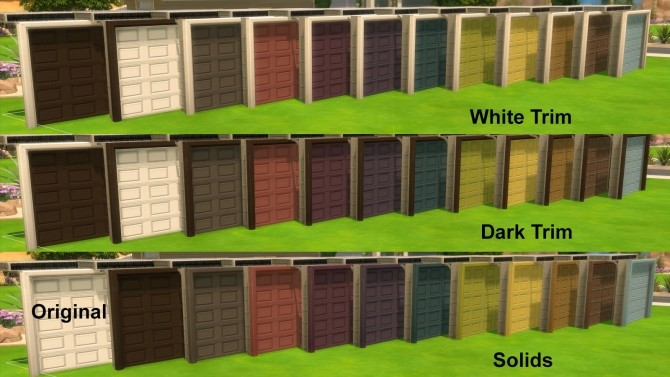 Sims 4 Garage Door Downloads 187 Sims 4 Updates