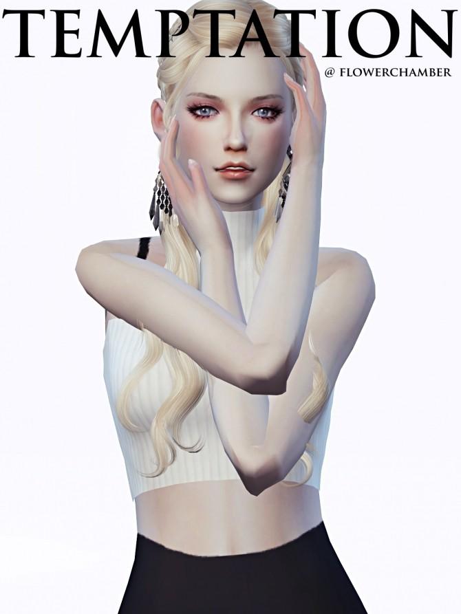 Sims 4 TEMPTATIO V.1 poses at Flower Chamber