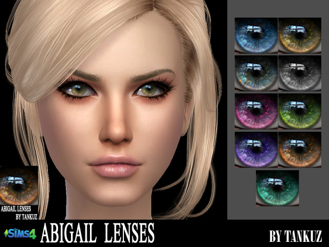 Sims 4 Abigail Lenses at Tankuz Sims4