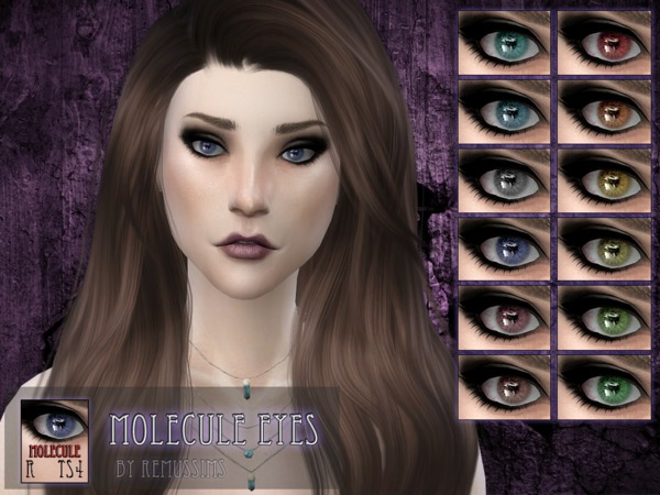 Sims 4 Molecule Eyes by RemusSirion at TSR