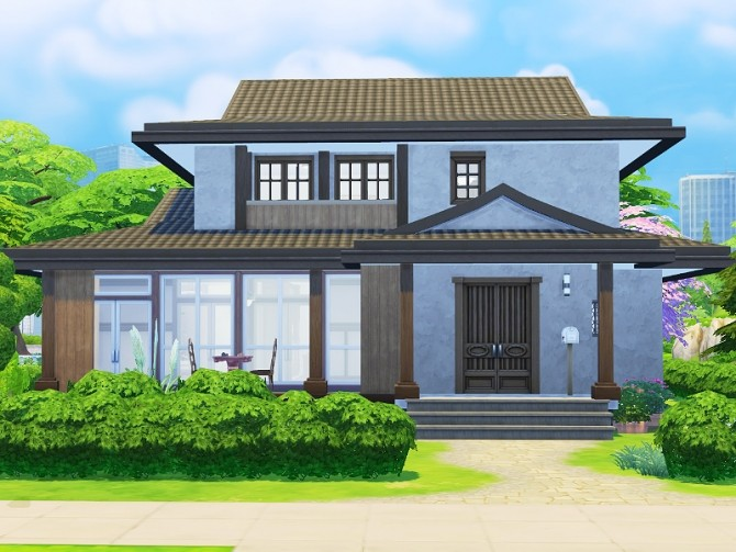 Sims 4 Japanese House at Imadako