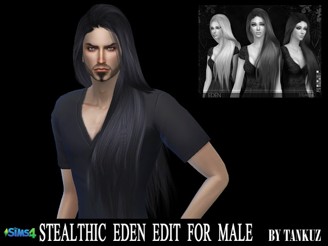 Sims 4 Stealthic Eden Edit For Males *Update at Tankuz Sims4