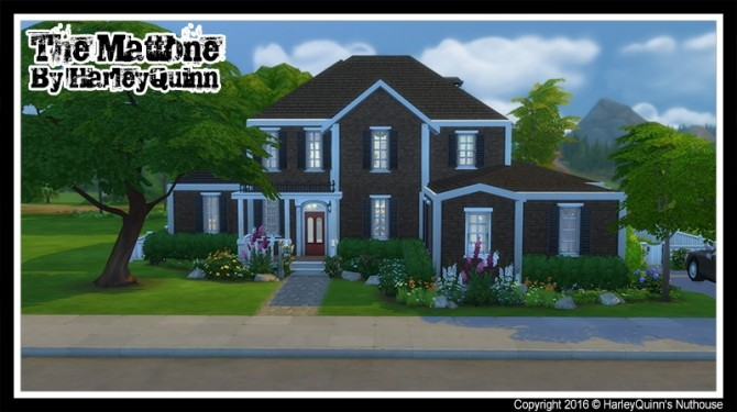 The Mattone house at Harley Quinn's Nuthouse image 959 670x375 Sims 4 Updates