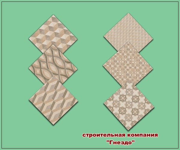 Mosaic Del Sur Floor At Sims By Mulena Sims 4 Updates