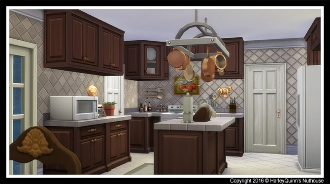 The Mattone house at Harley Quinn's Nuthouse image 998 670x375 Sims 4 Updates