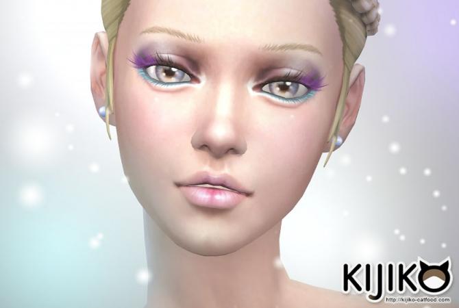 Colored Eyelashes At Kijiko 187 Sims 4 Updates