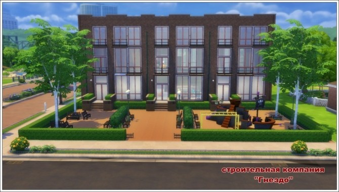 Sims 4 Chance apartment at Sims by Mulena