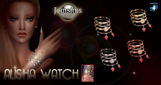Alisha watch at Jomsims Creations image 1021 670x355 Sims 4 Updates