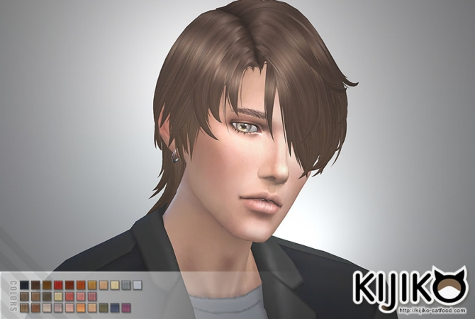 Gloomy Bangs Hair For Male At Kijiko 187 Sims 4 Updates