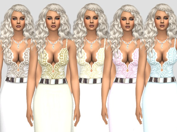 MP Gown N5 at BTB Sims – MartyP image 10710 Sims 4 Updates