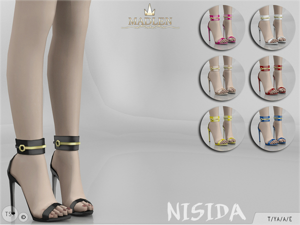 Sims 4 Madlen Nisida Shoes by MJ95 at TSR