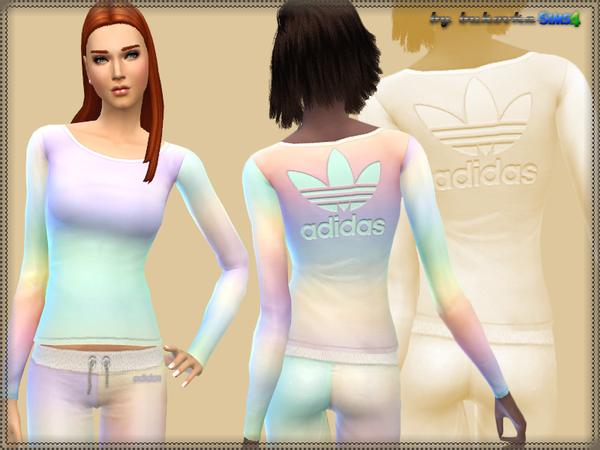 Sims 4 Set Pastel Gradient at Bukovka