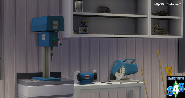 Sims 4 Power Tools Deco at Simista