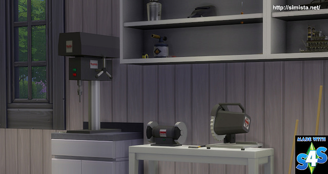 Power Tools Deco at Simista image 1205 Sims 4 Updates