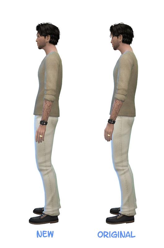 Sims 4 Male Outdoor Stuff Simple Boot Edit at Julietoon – Julie J