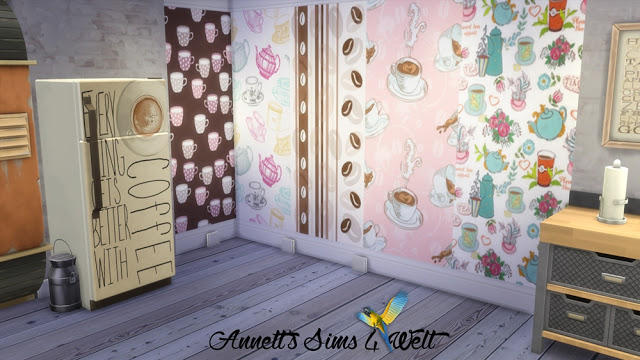 Kitchen Wallpapers Part 1 + Part 2 at Annett's Sims 4 Welt image 1273 Sims 4 Updates