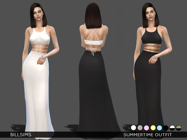 Sims 4 Summertime Outfit by Bill Sims at TSR
