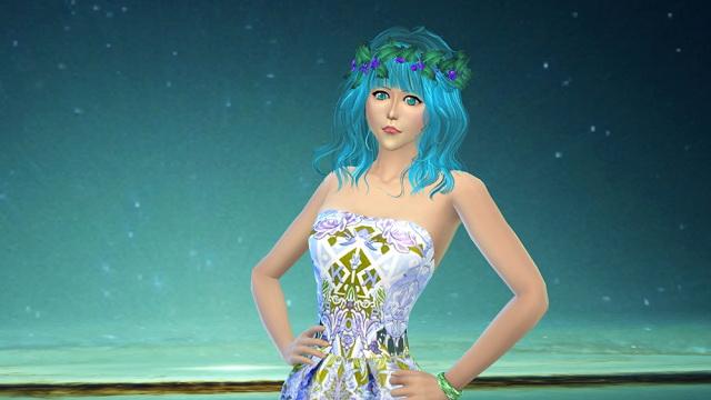 Sims 4 Anime Characters : Sao sinon anime character at ng sims updates